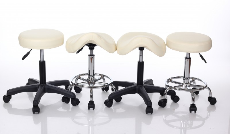 Stool for Master RESTPRO® Round 2 cream