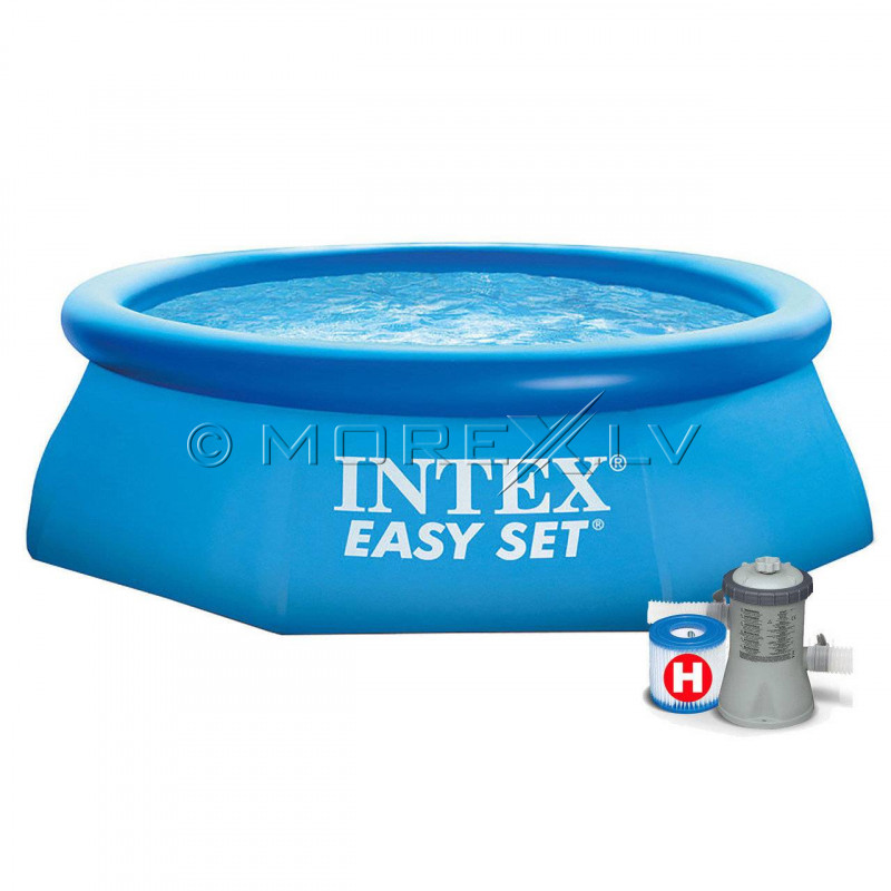 Baseins Intex Easy Set Pool 244х76 cm, ar filtra sūkni (28112)