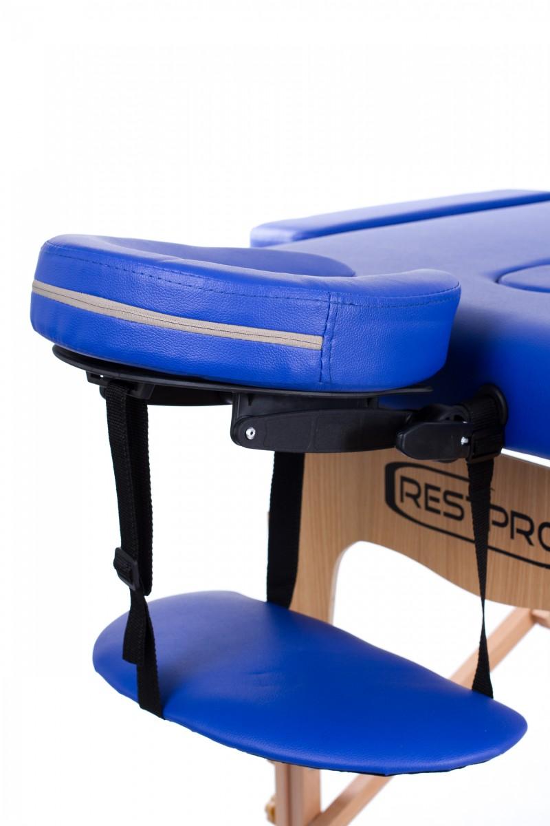 RESTPRO® Classic-2 Blue masāžas galds (kušete)