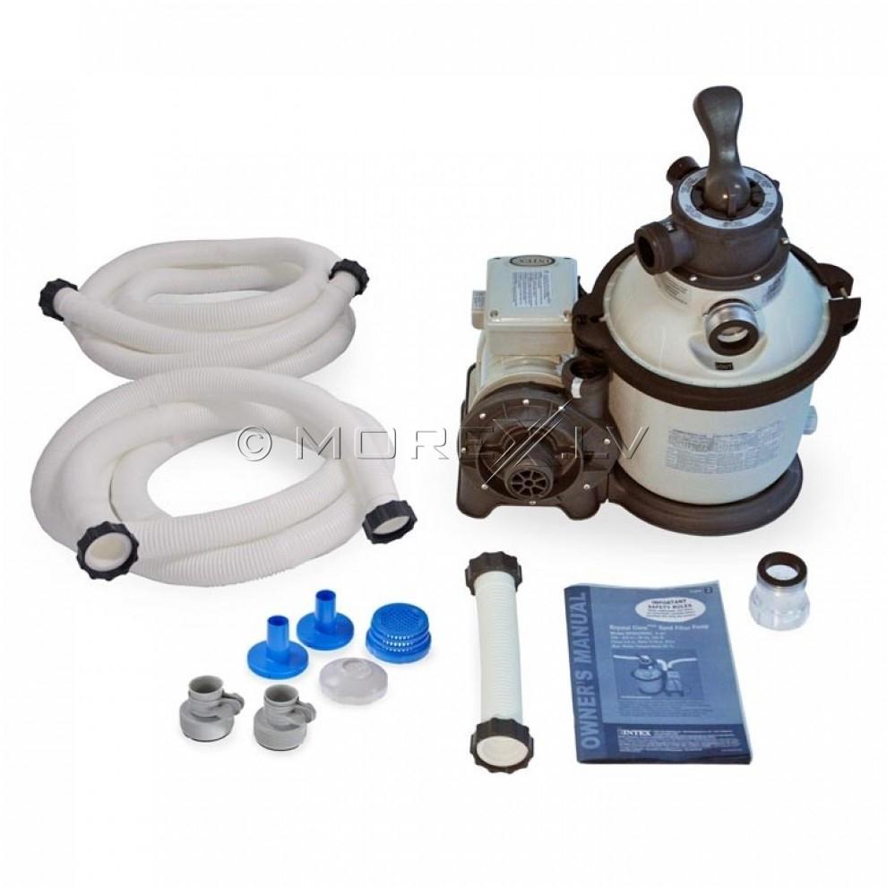 Intex Krystal Clear Sand Filter And Pump 28644 1200gal