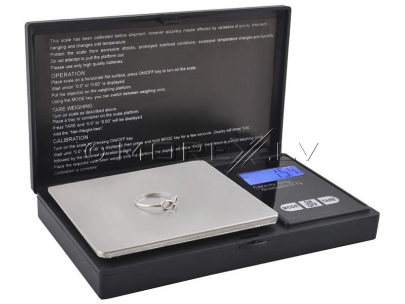 Pocket Mini Jewelry Scale to 500g (00002612)