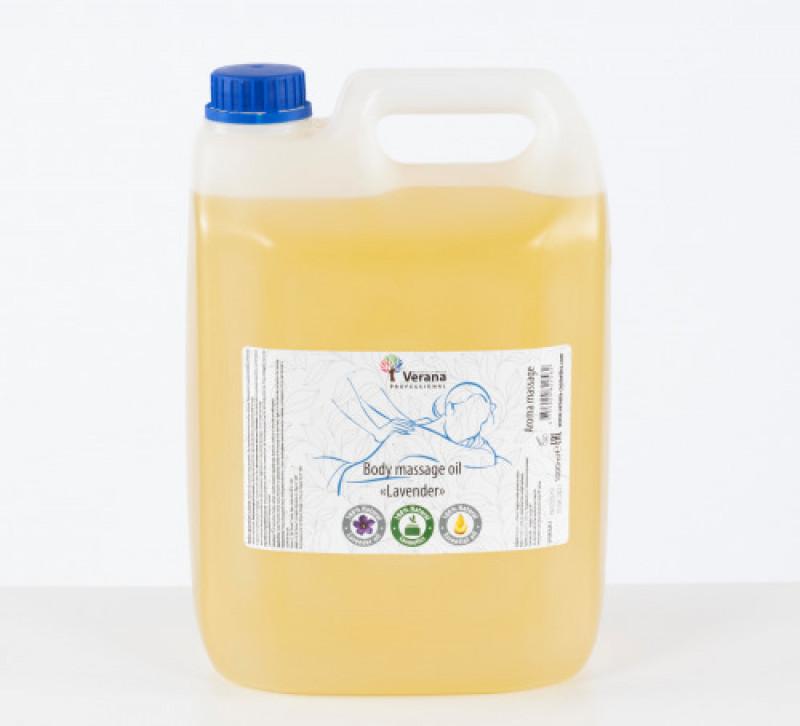 Masāžas eļļa ķermenim Verana Professional «Lavanda», 5 L
