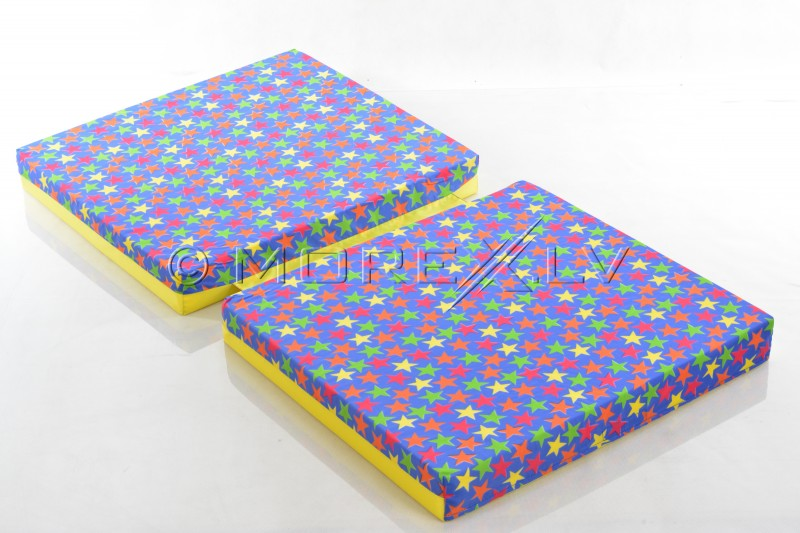 Safety mat 66x120cm with stars