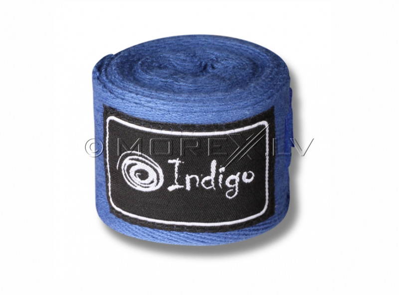 Boxing bandages Indigo 2,5m blue