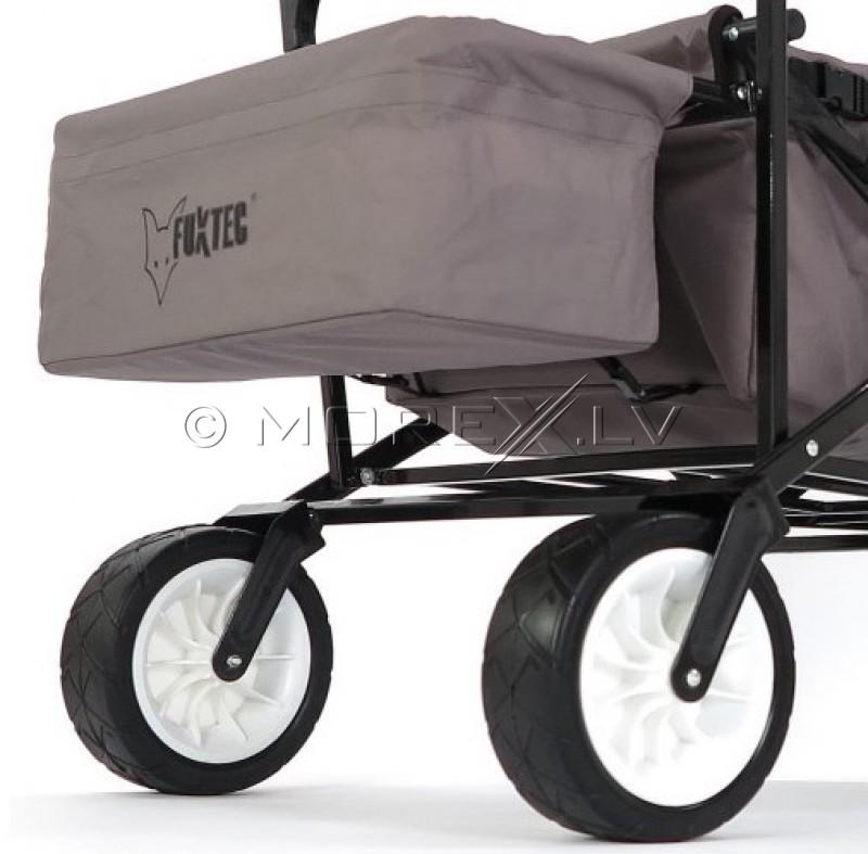 Saliekamie bērnu ceļojumu ratiņi Fuxtec BW100 (ceļojuma pastaigu rati)