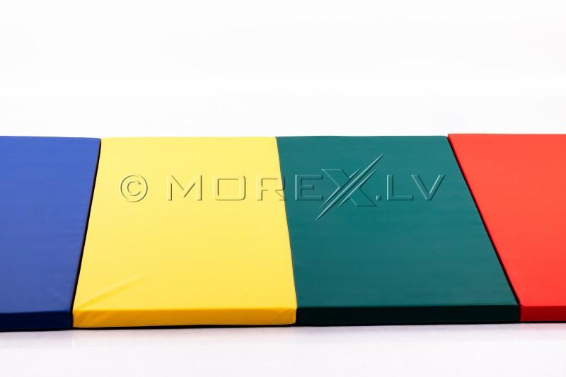 Sporta paklājs 116x232cm četrkrāsu YM-R4