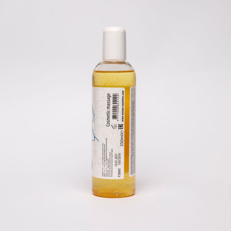 Masāžas eļļa ķermenim Verana Professional, Dzintars 250ml