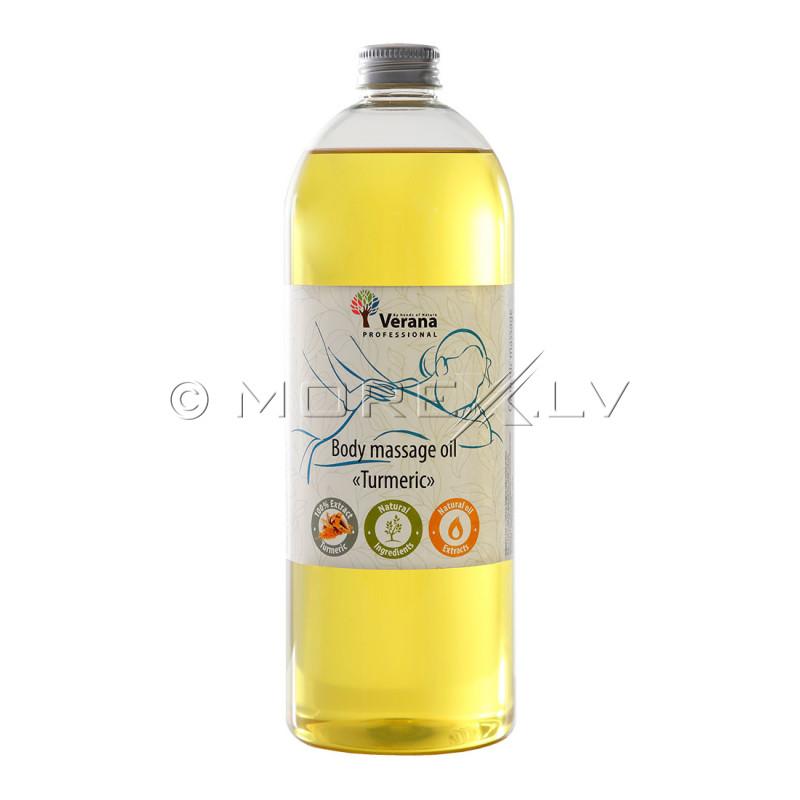 Body massage oil Verana Professional, Turmeric 1 liter