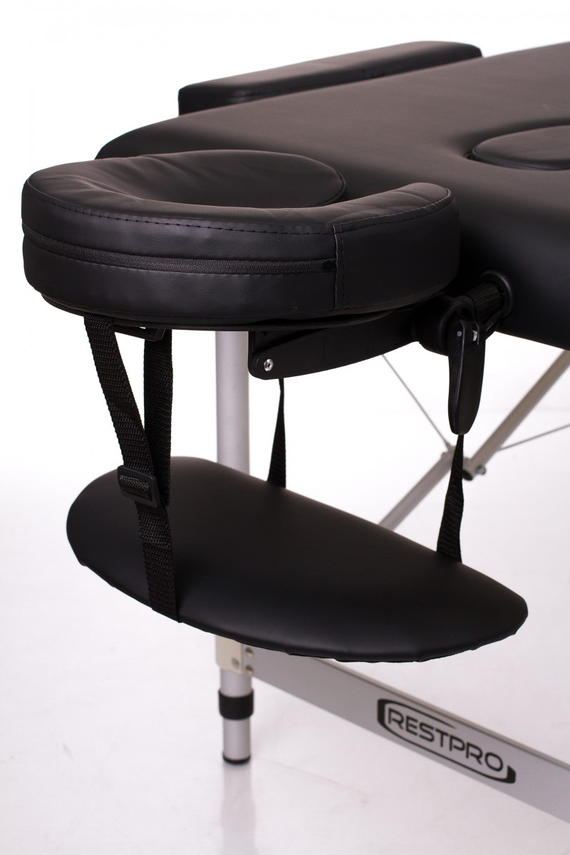 RESTPRO® ALU 3 Black Portable Massage Table