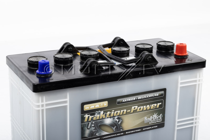 Power boat battery Intact Traktion-Power 125AH (c20)