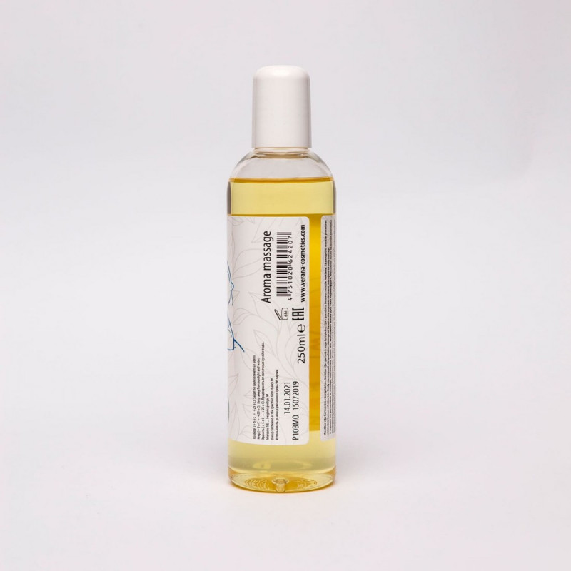 Body massage oil Verana Professional, Grapefruit 250ml