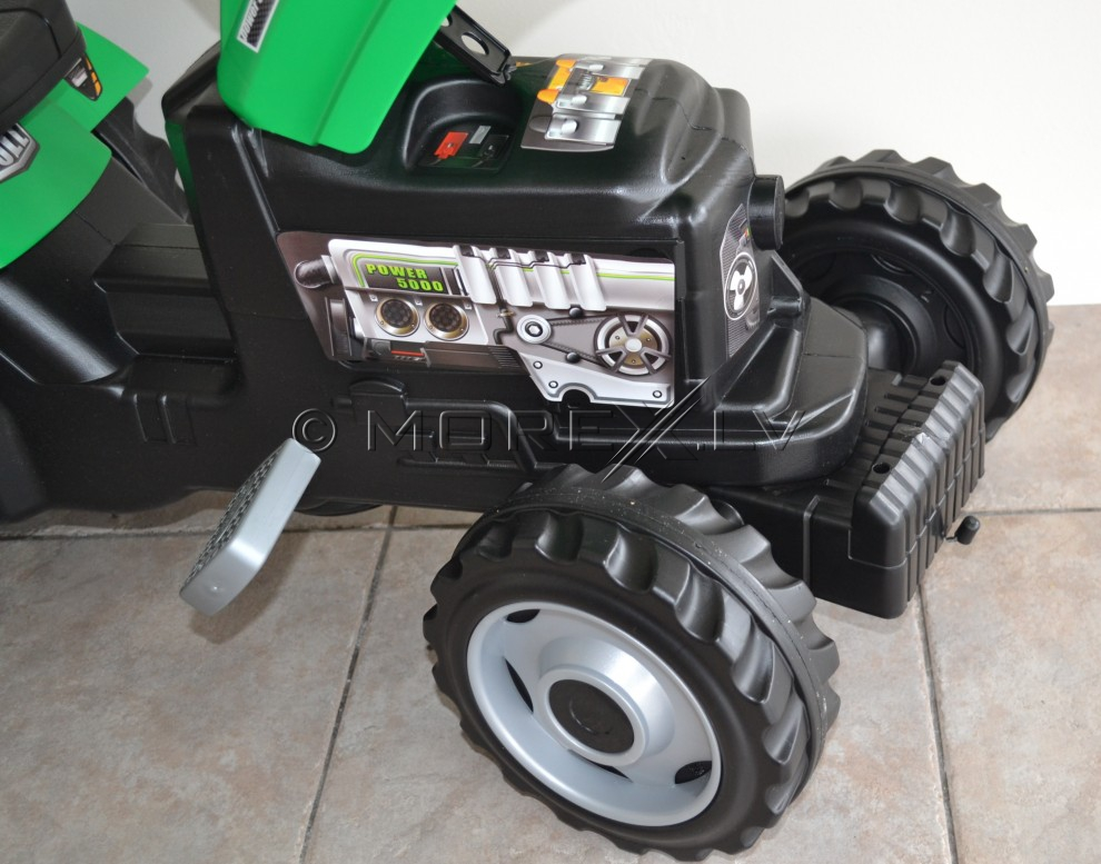 Детский трактор с прицепом - Smoby Green (игрушка)