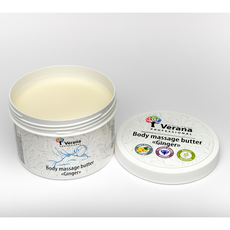 Body massage butter Verana Ginger 450gr