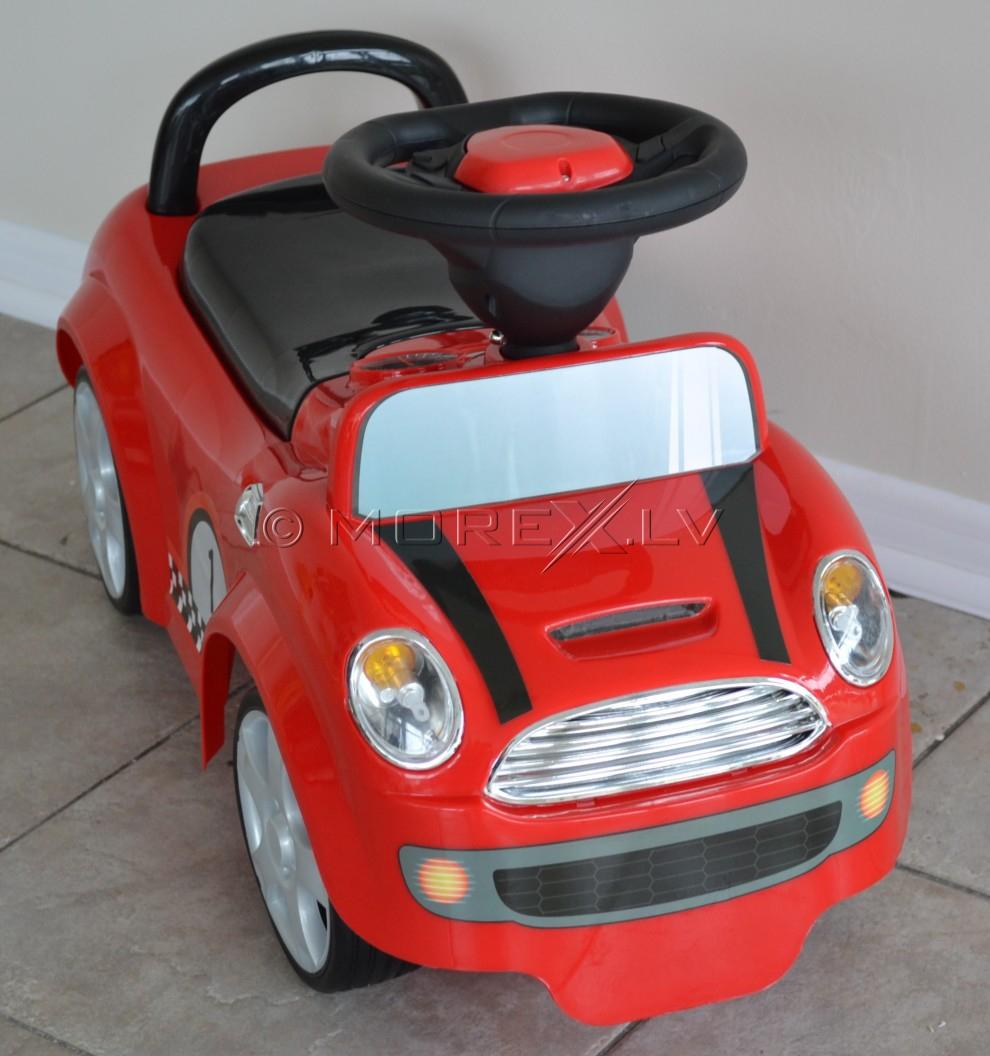 Bērnu automobīlis - sarkans (rotaļlieta)