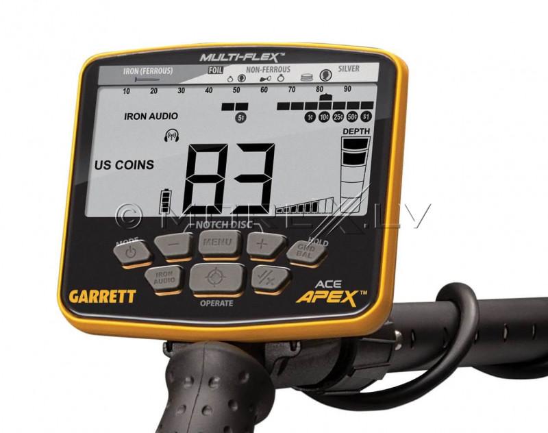 Metāla detektors Garrett ACE APEX (1142320)