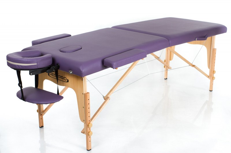 RESTPRO® Classic-2 Purple Portable Massage Table