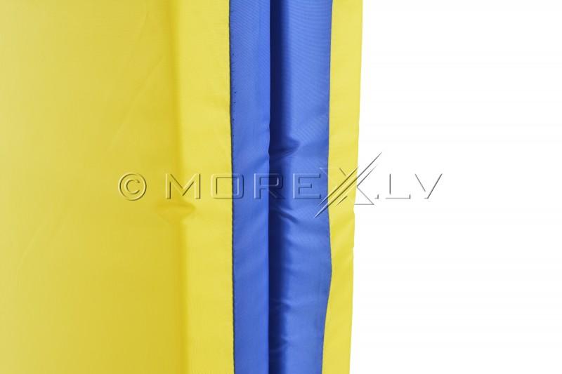 Sporta paklājs 66x160cm zili-dzeltens
