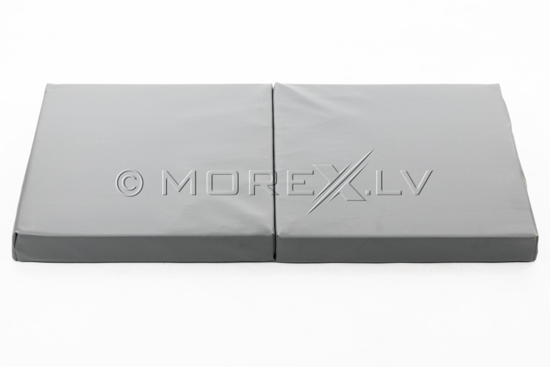 Leather safety mat 66x120 cm, gray