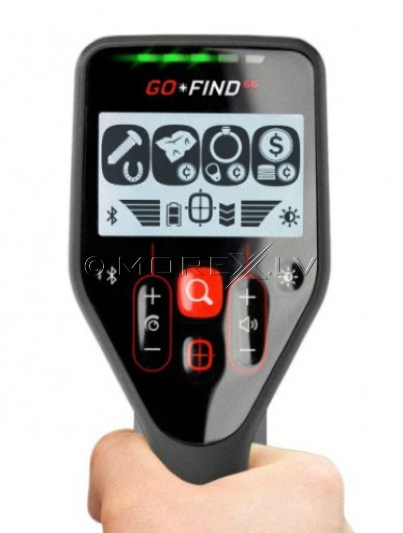 Metāla detektors Minelab GO-FIND 66 + PRO-FIND 20 PinPointer