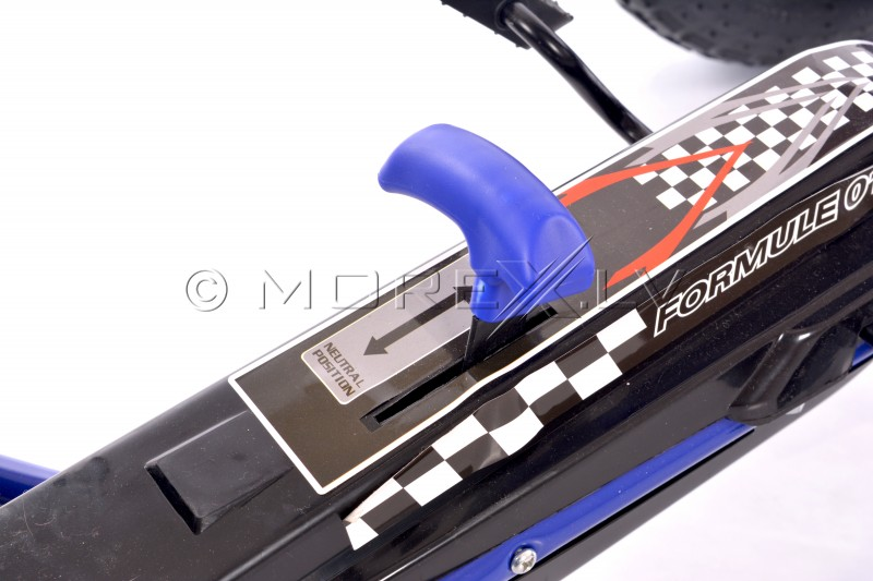Velokarts (Velomobilis) Go-Kart A-15 zils (3-8 gadiem)
