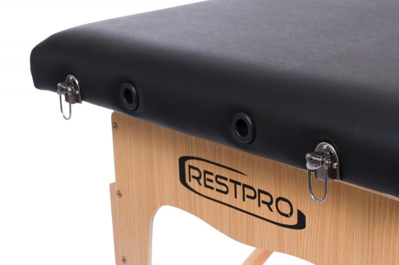 Masāžas galds - kušete RESTPRO® Classic-2 Black