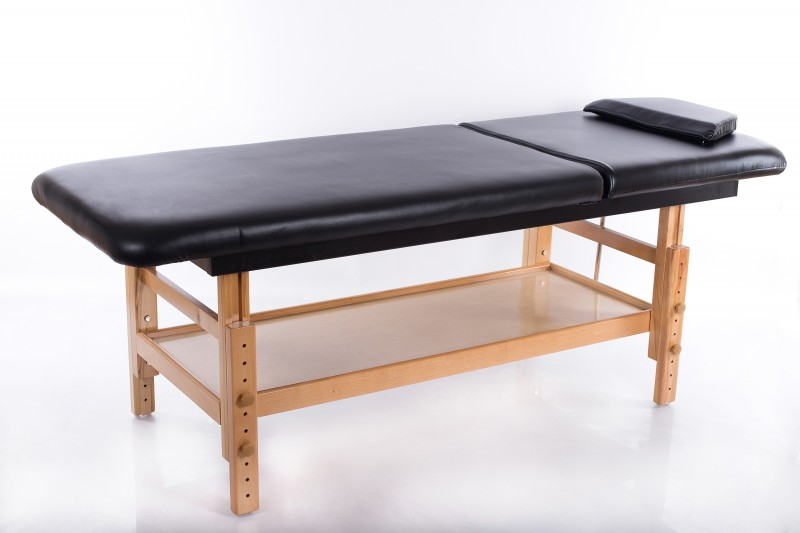Salon Massage Table Comfort Black