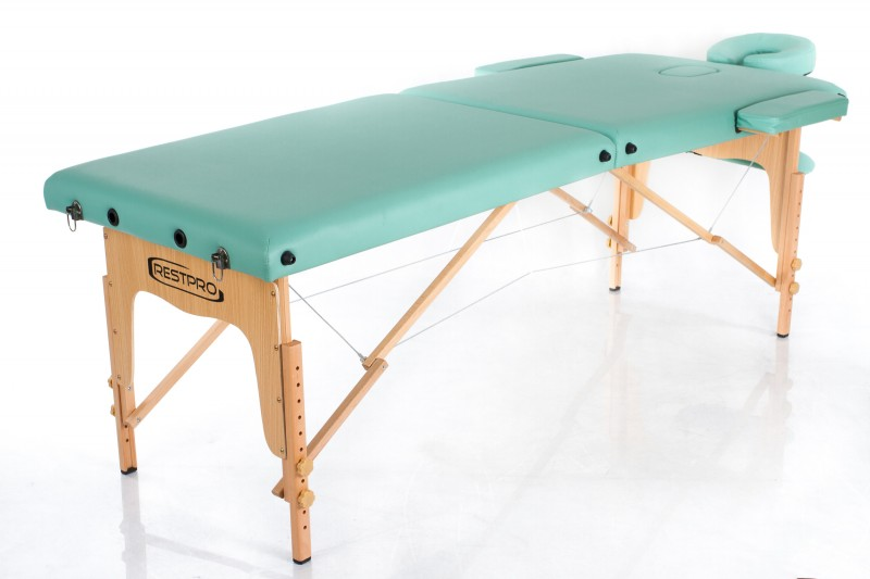 RESTPRO® Classic-2 Blue-green Portable Massage Table