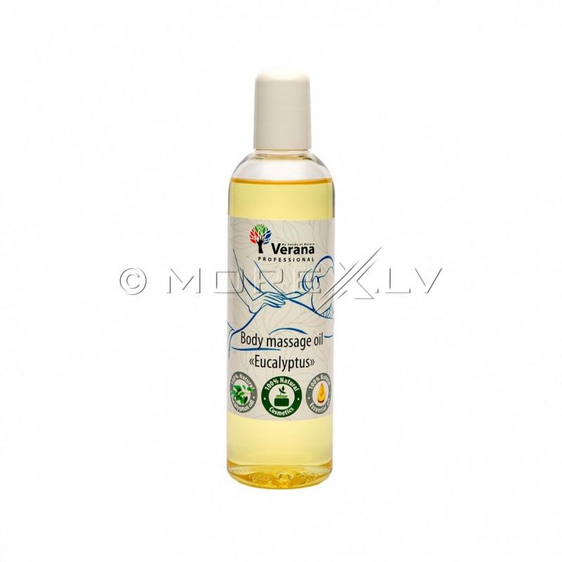 Massage oil for the body Eucalyptus, 250 ml