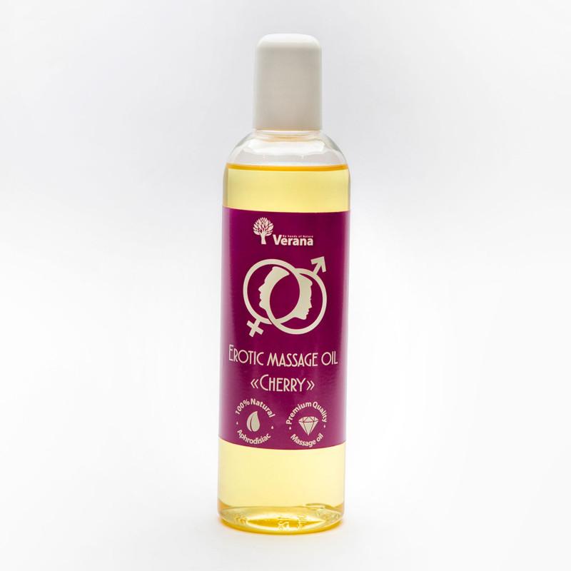 Эротическое массажное масло Verana, Вишня 250 мл