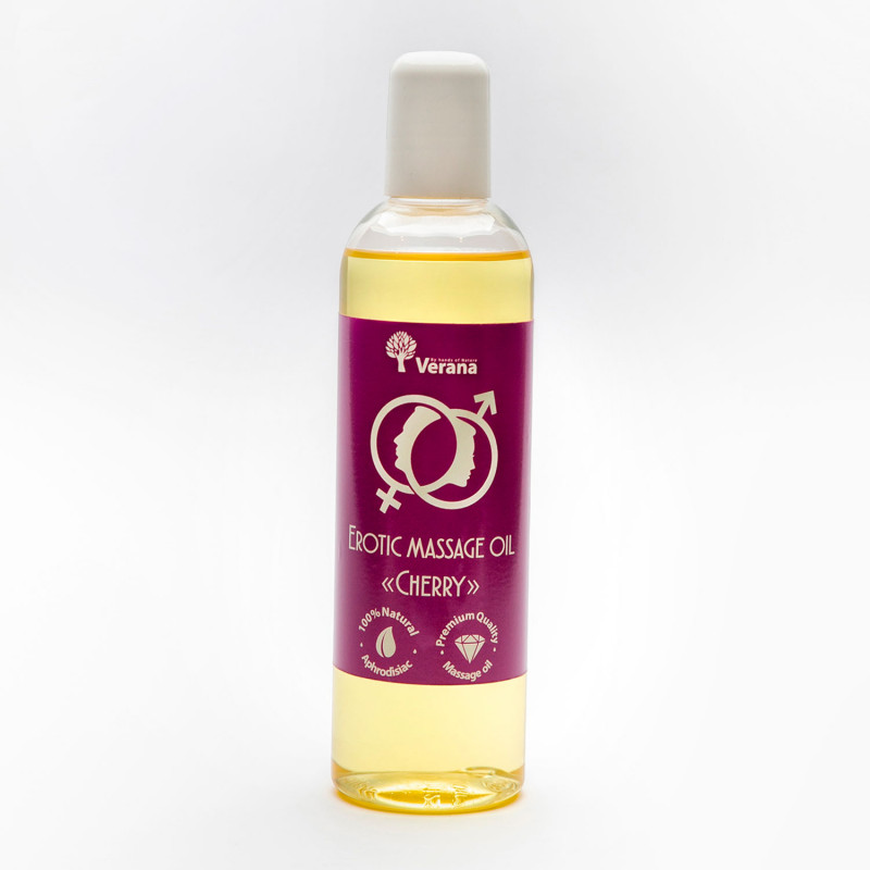 Erotic massage oil Verana, Cherry 250 ml