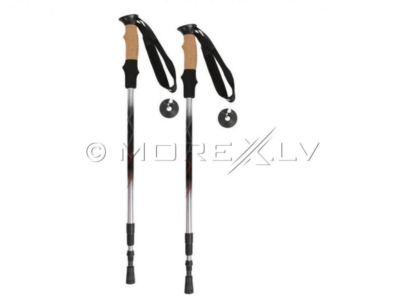 Nūjošanas Nordic walking nūjas IRAK008 65-135cm