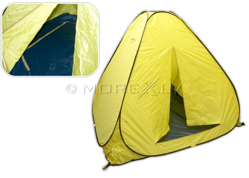 Winter tent W-A200 (200 x 200 x 152 cm, 3.5 kg, yellow)