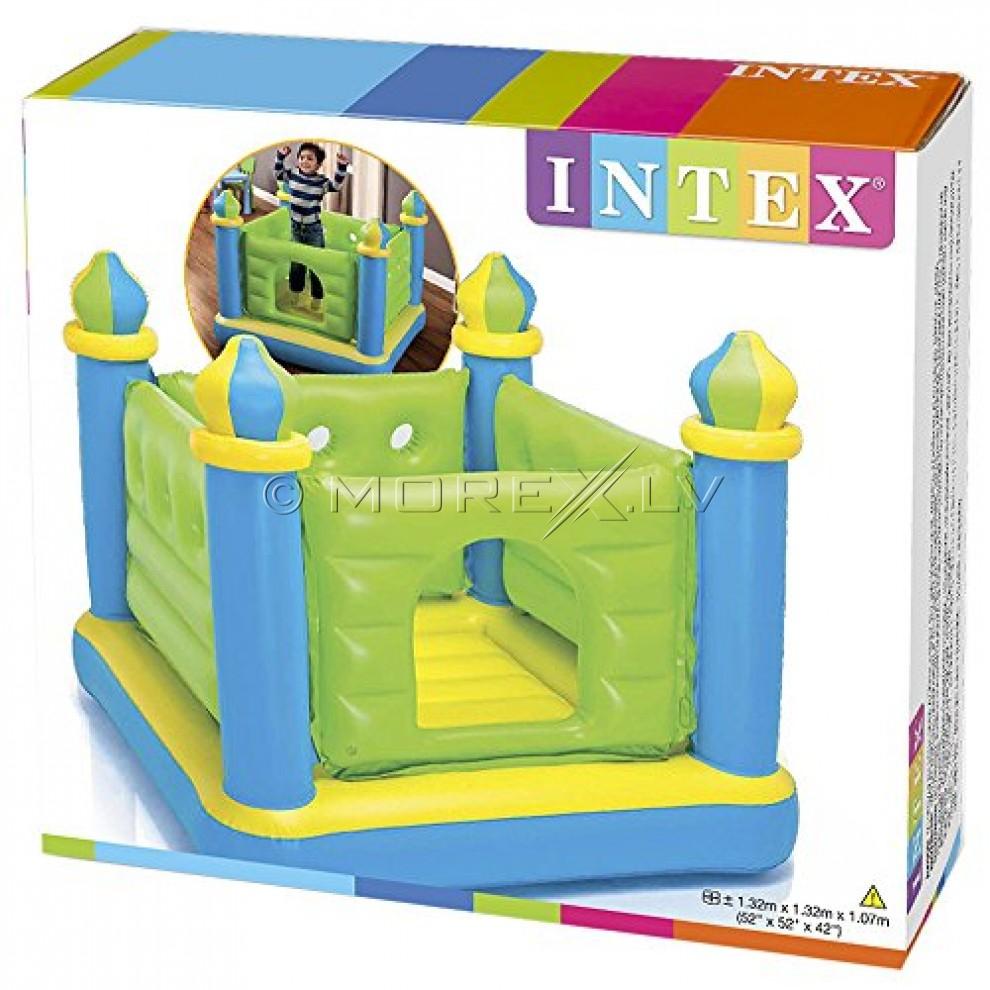 INTEX Jump-O-Lene Green castle 48257NP (132x132x107cm)