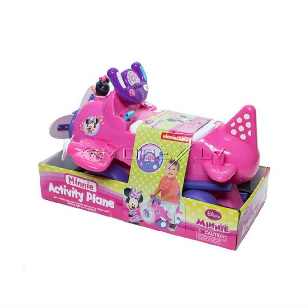 Kiddieland Disney Minnie Plane Ride-On Toy 49866