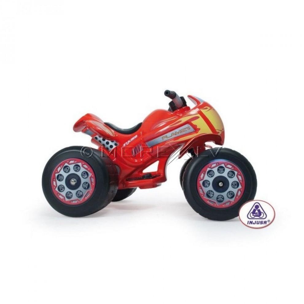 Детский электроквадроцикл Injusa 728 Quad Flames