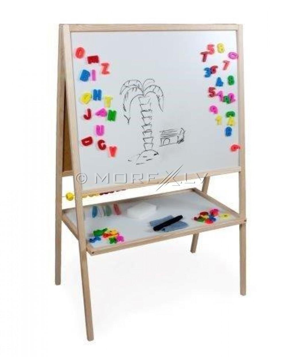 3toysM детская деревянная двухсторонняя доска MBU (65x37x100см)