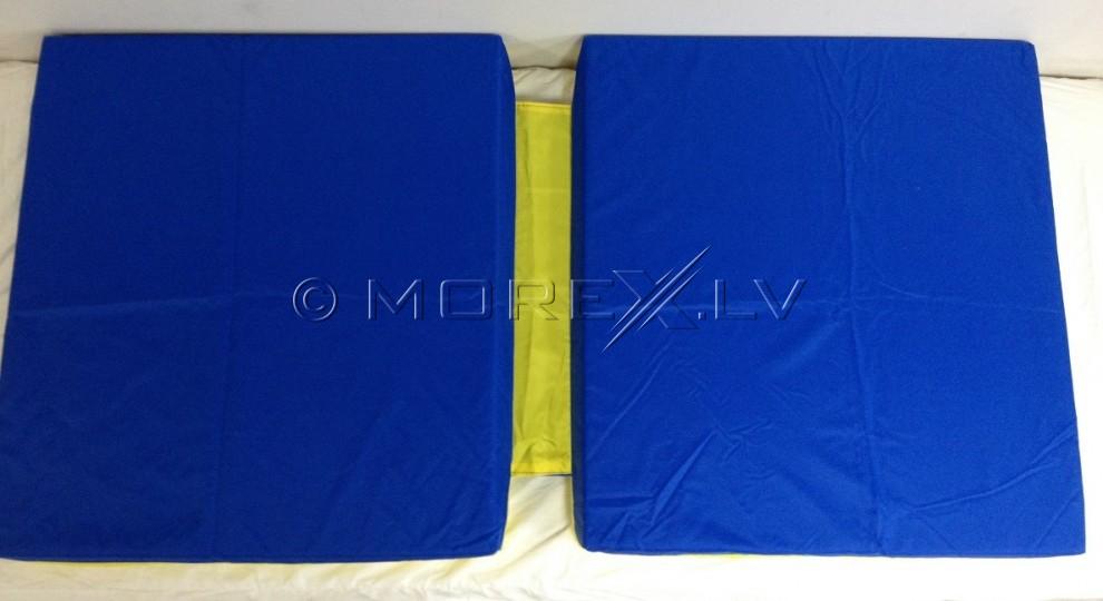 Safety mat 66x120cm blue-yellow