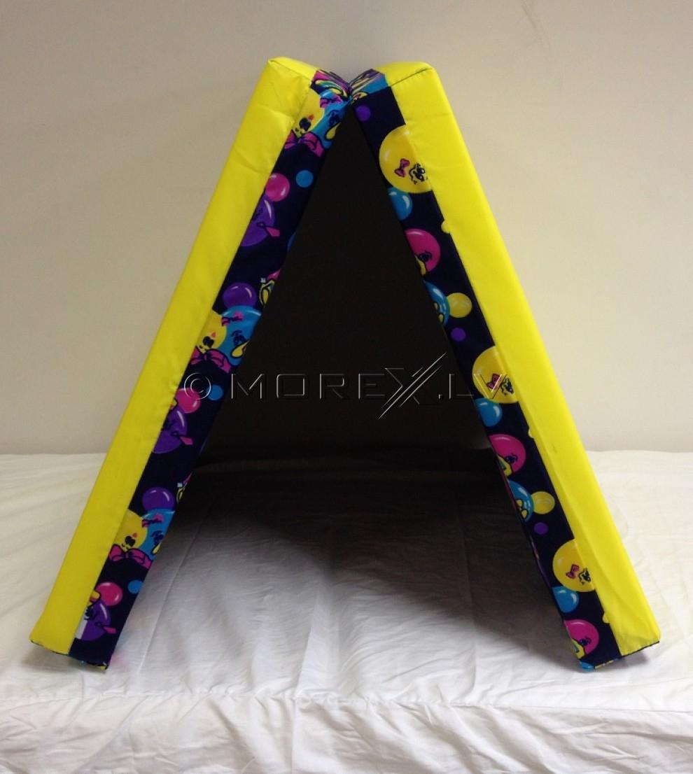 Safety mat 60x120cm purple-yellow