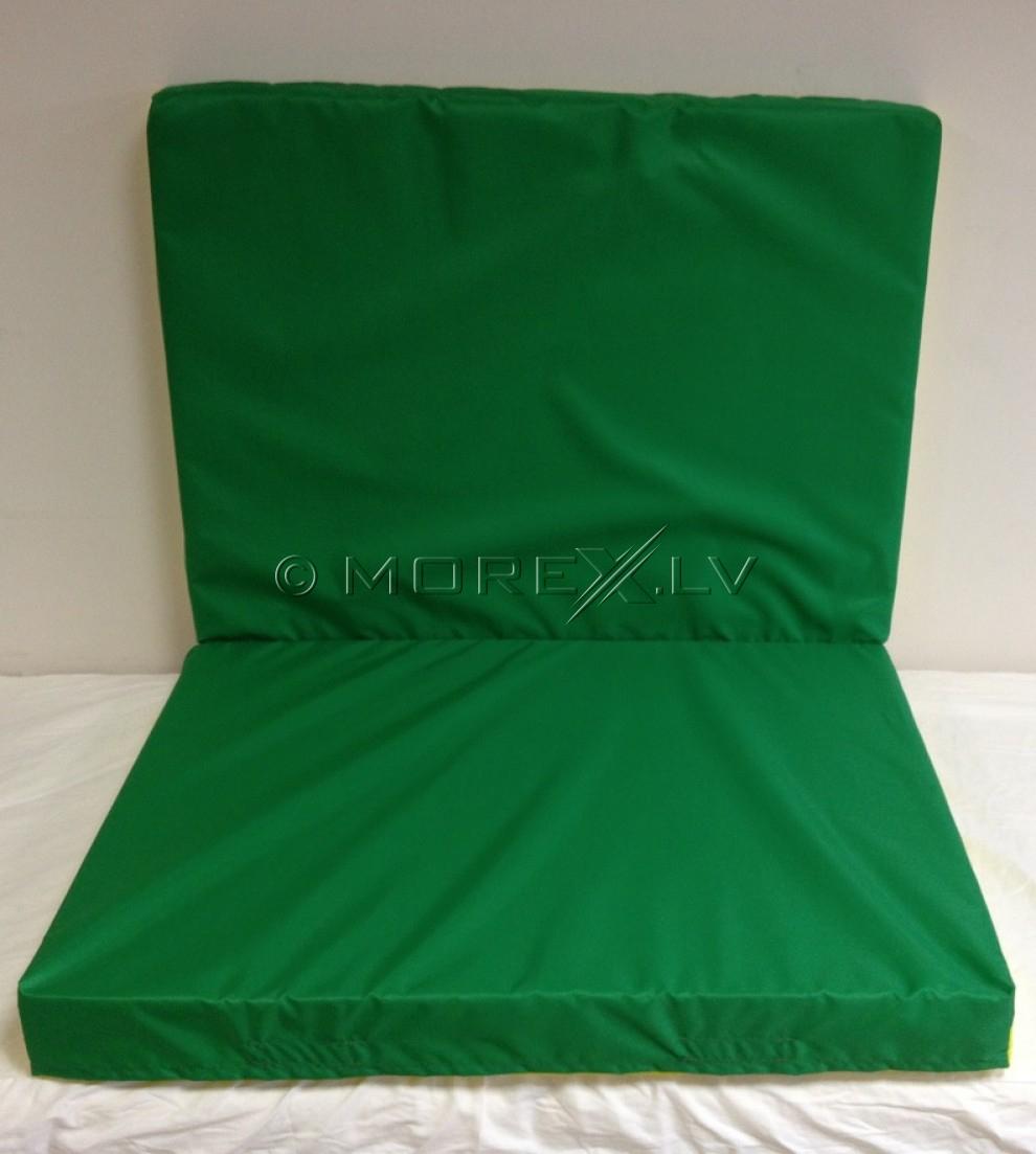 Sporta paklājs 80x120cm zaļi-dzeltens