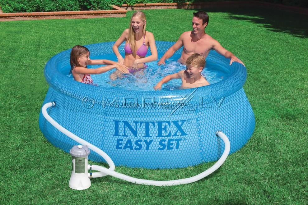 Детский бассейн 54912 EASY SET 244x76cm с электр. фильтром