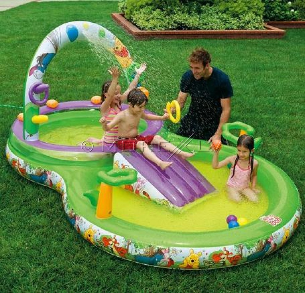 Детский бассейн INTEX 57451A 297x193x135cm