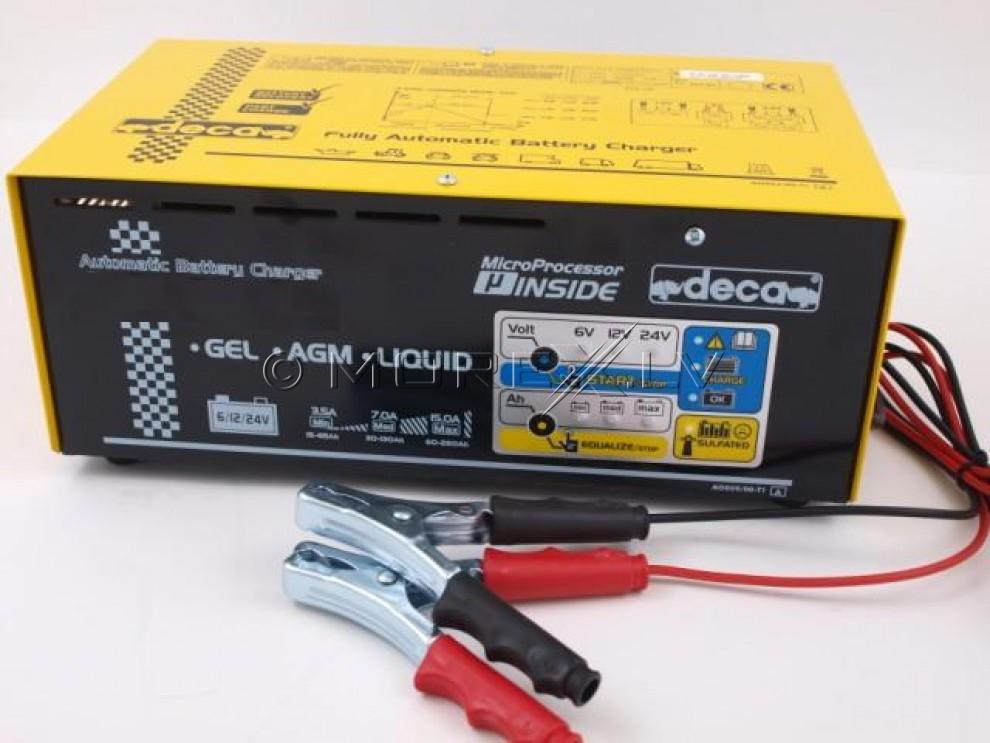 Импульсная зарядка FL2213D (6-12-24V) (15-260Ah) 3.5/7/15A