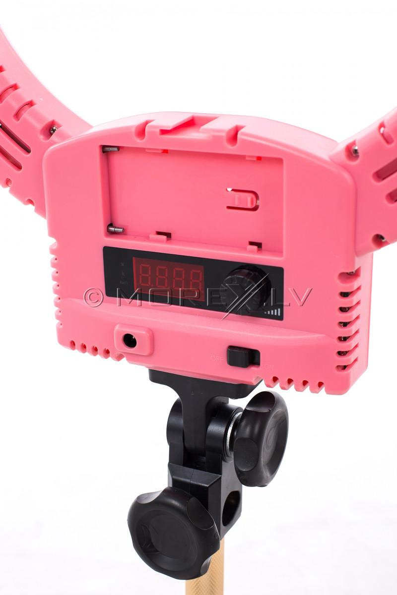 Gredzenveida LED lampa foto un video uzņemšanai Ø33 cm, 36W (9601LED-12)