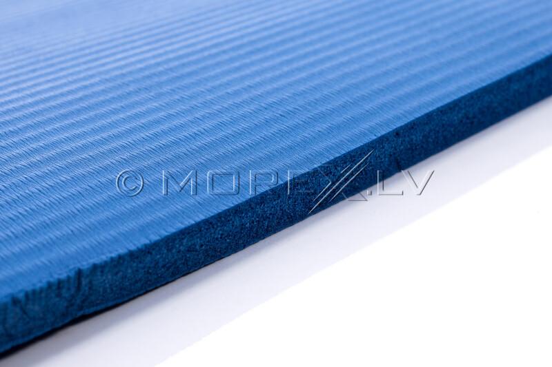Jogas pilates vingrošanas sporta paklājiņš 179х1,5х60 cm, zils