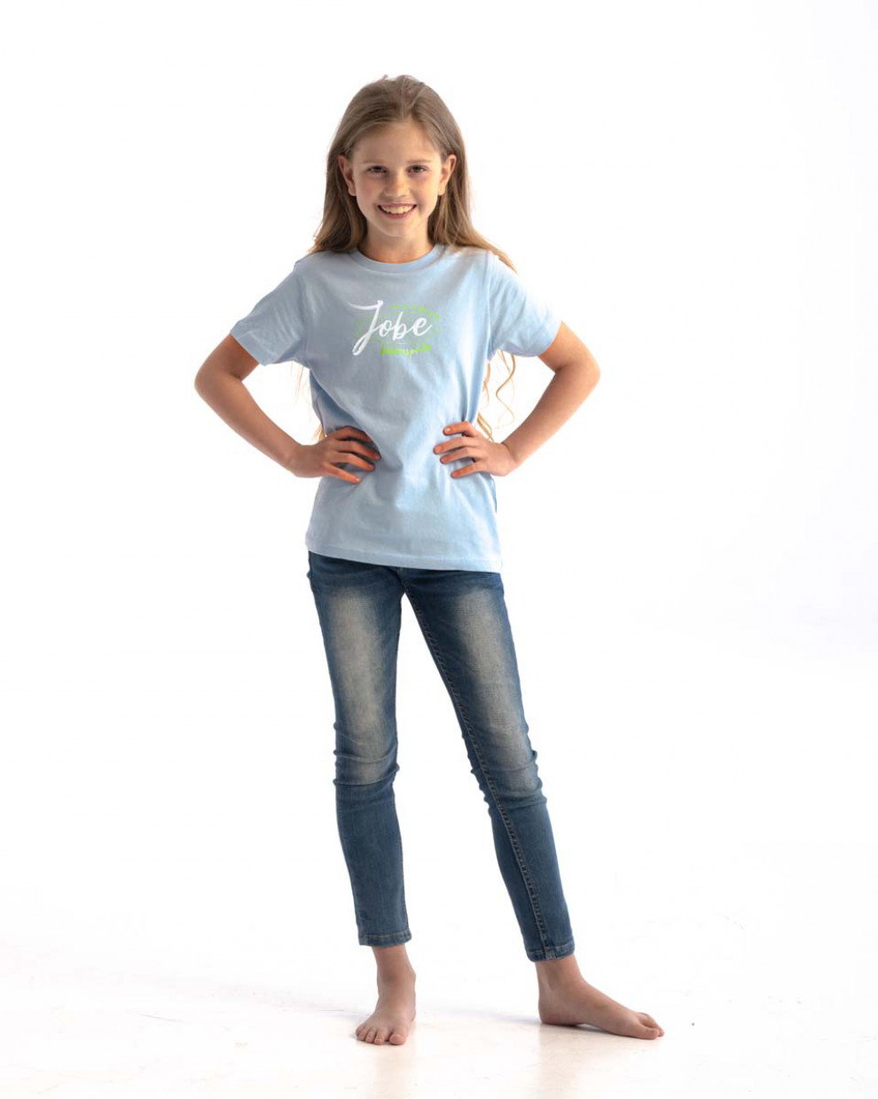 Jobe Casual T-Shirt Bērnu Sky Zils