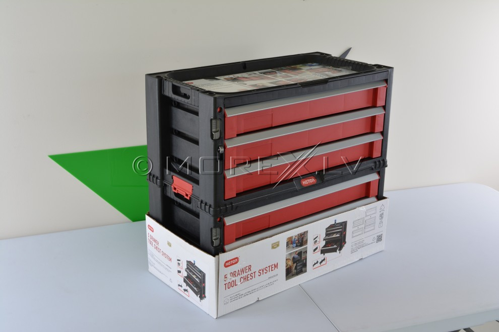 5 Drawer Tool Chest System Keter 51149579 Drawer Tool