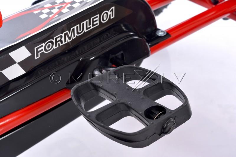 Велокарт (Веломобиль) Go-Kart A-15 красный (от 3-8 лет)