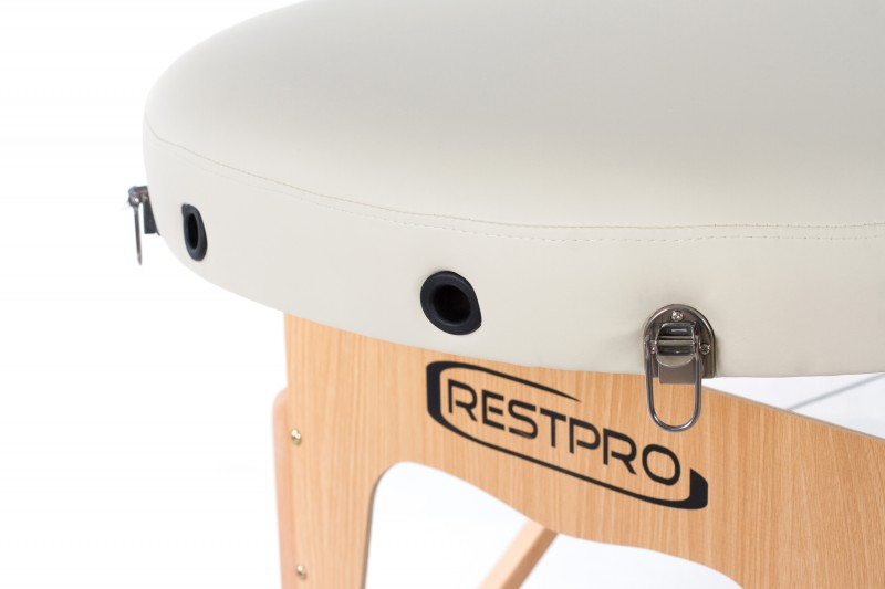 RESTPRO® VIP OVAL 2 CREAM Portable Massage Table
