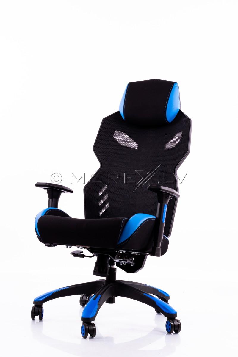 Игровое кресло черно-синее BM3030