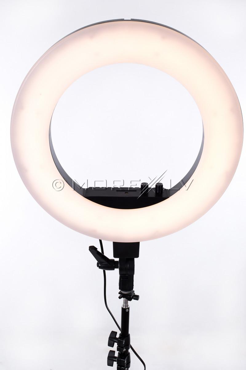 Gredzenveida LED lampa kosmetologiem, Ø46 cm, 50W (9601LED-18)